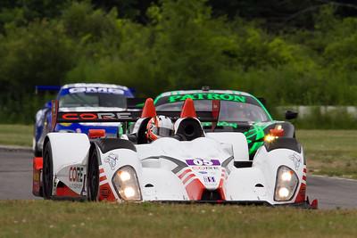 05 Core Autosport Oreca FLM09 Chevrolet drivers Jonathan Bennett and Colin Braun