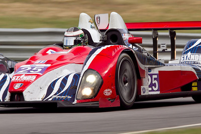 25 Dempsey Racing Oreca FLM09 Chevrolet drivers Henri Richard and Duncan Ende 3rd place PC class