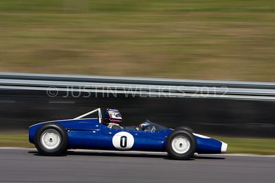 9995 Lakeville CT Aug. 31 2012 Historic Festival 30 car no 0 Roy Walzer Litchfield, Conn. 1963 Cooper Formula Junior