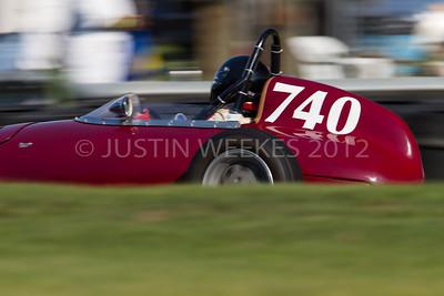 4741 Lakeville CT Sept. 1 2012 Historic Festival 30 740 Mitch Eitel Kent, N.Y. 1959 OSCA Formula Junior