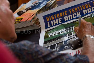 Lakeville CT Sept. 1 2012 Historic Festival 30 Sir Stirling Moss