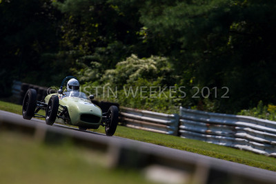 4204 Lakeville CT Aug. 31 2012 Historic Festival 30 car no 21 Phil Lamont Hubbards, N.S., Can. 1960 Lotus 18 Formula Junior
