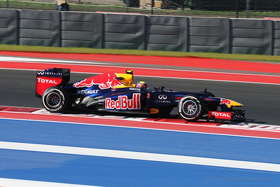 Mark Webber - 2012 US Grand Prix