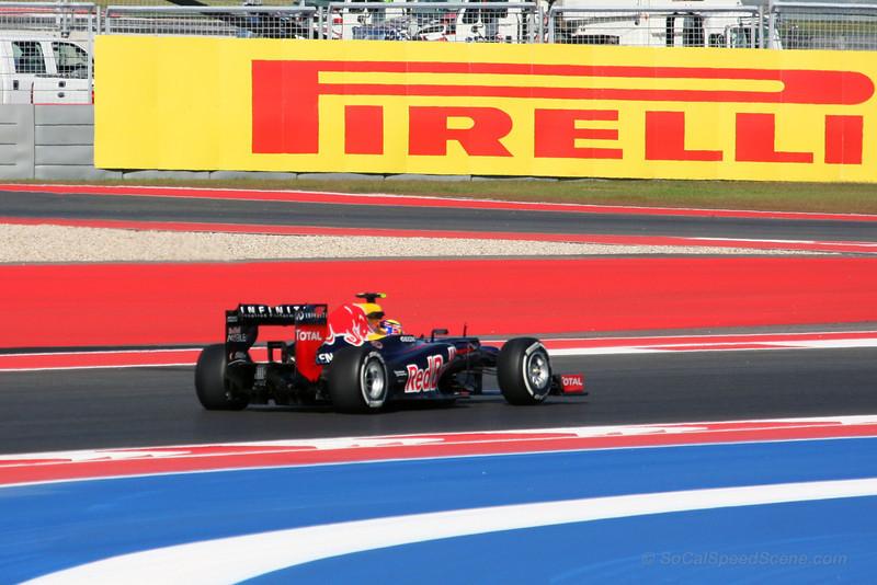 Mark Webber - 2012 US Grand Prix