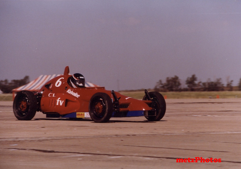 1990  the Albatros, running as a formula vee in the Solo 1 National championships where we won the class!