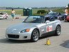 Grissom Air Base, May 2006, 2002 model of Honda S2000.  Car was purchased from Jack Tovey in 2005 with very low miles and already setup for solo competition.  I lost the clutch at this event.  After replacing the clutch, have used it in competition very little.  Did get street tires to run in the new STR class.  Has aftermarket Koni shocks, but otherwise have kept it nice for street driving enjoyment.
