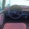 Interior of the 1980 Honda Accord.