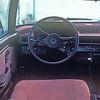 Interior of the 1980 Honda Accord.
