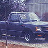 1988 GMC, was purchased new, to be a tow vehicle for the vee.  Was four cylinder, and did well until had an issue with an exhaust head leak, that was covered under warrantee.