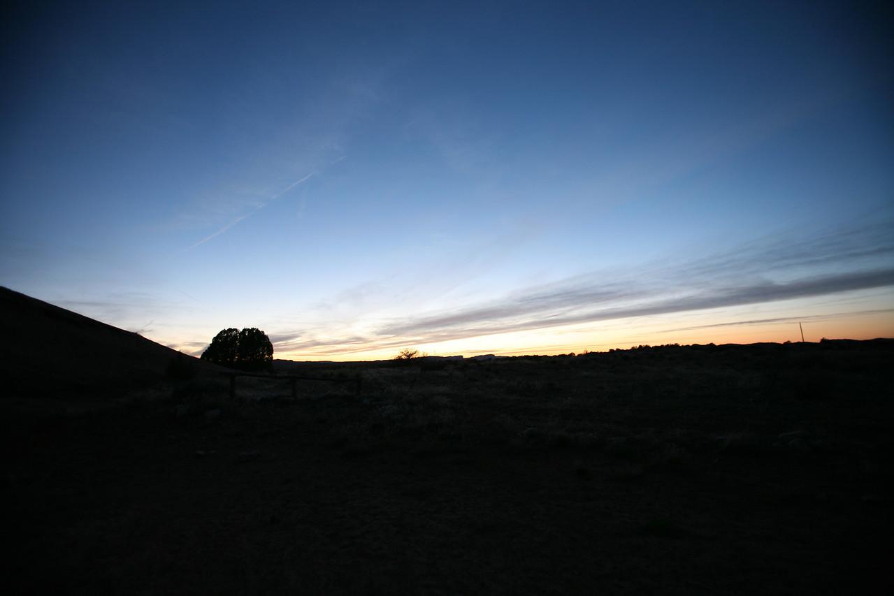 Moab sunset.