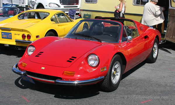 Beautiful Dino at Monterey Motorsports Reunion 2011