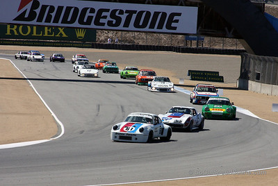 Monterey Motorsports Reunion race 2011