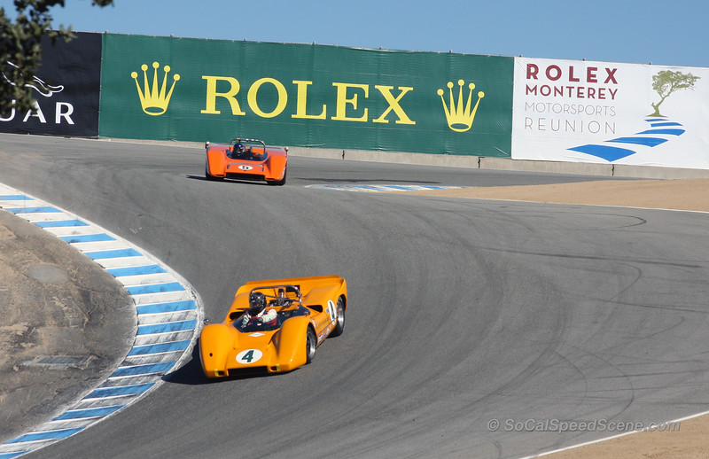 Monterey Motorsports Reunion race at the cork screw 2011