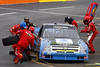truck series pit stop in Martinsville