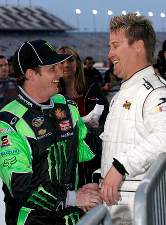 T J Bell and Ricky Carmichael