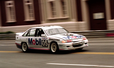 Peter Brock and Larry Perkins, Holden Commodore.