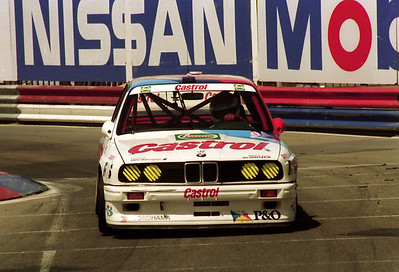 Race winner, Emanuel Pirro and Joachim Winklehock, Schitzner BMW M3.