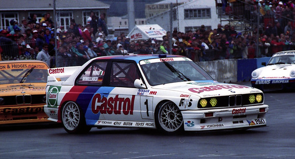 Race winner, Emanuel Pirro and Joachim Winklehock, Schitzner BMW M3.