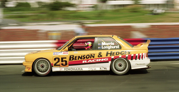 Paul Morris/Tony Longhurst, BMW M3.