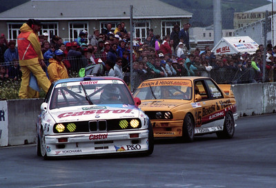 BMW M3's of Pirro/Winkelhock and Morris/Longhurst.