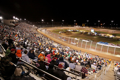 Charlotte Motor Speedway - World of OUtlaws - Pits and Parts