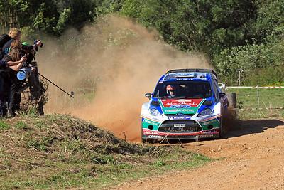 Miko Hirvonen, Ford Fiesta RS WRC, SS16 Grace.