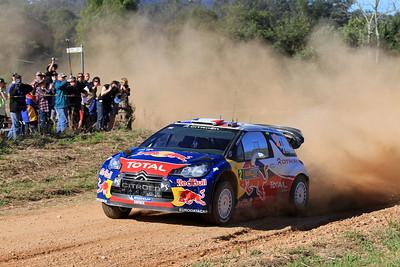 Sebastian Ogier, Citroen DS3 WRC, SS16 Grace.