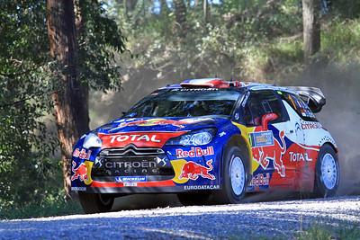 Sebastian Loeb, Citroen DS3 WRC, SS11 Welshes.