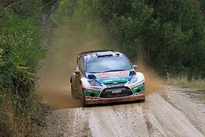 Miko Hirvonen, Ford Fiesta RS WRC, SS06 Shipmans.