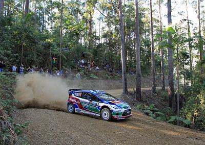 Jari-Matti Latvala, Ford Fiesta RS WRC, Shakedown.