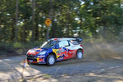 Sebastian Ogier, Citroen DS3 WRC, SS11 Welshes.