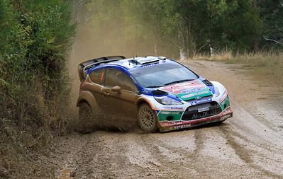 Jari-Matti Latvala, Ford Fiesta RS WRC, SS06 Shipmans.