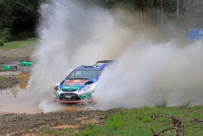 Miko Hirvonen, Ford Fiesta RS WRC, SS03 Shipmans.