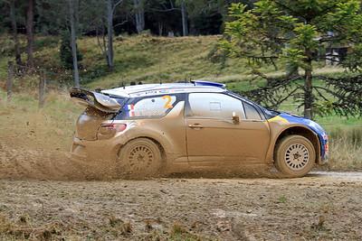 Sebastian Ogier, Citroen DS3 WRC, SS06 Shipmans.