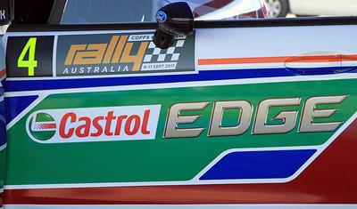 Jari-Matti Latvala, Ford Fiesta RS WRC, Door.