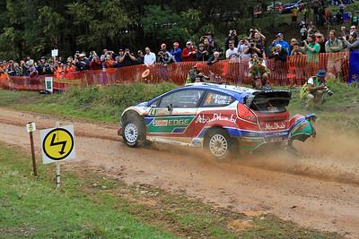 Jari-Matti Latvala, Ford Fiesta RS WRC, SS03 Shipmans.