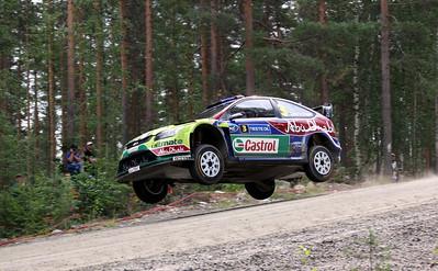 Mikko Hirvonen, SS23 Ruuhimaki.