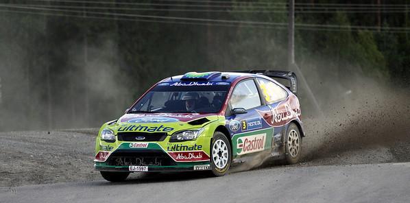Mikko Hirvonen, SS18 Kavala.