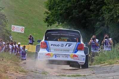 Jari-Matti Latvala, Volkswagen Polo WRC, Shakedown.