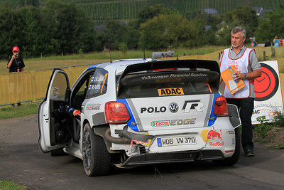 Jari-Matti Latvala, Volkswagen Polo WRC, SS8 Grafschaft.