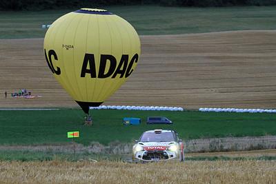 Dani Sordo, Citroen DS3, WRC, SS2 Sauertal.