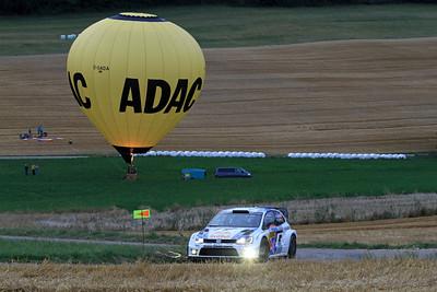 Jari-Matti Latvala, Volkswagen Polo WRC, SS2 Sauertal.