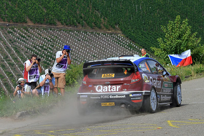 Mads Ostberg, Ford Fiesta RS WRC, SS6 Mittelmosel.