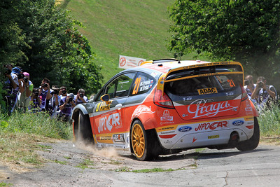 Martin Prokop, Ford Fiesta RS WRC, Shakedown.