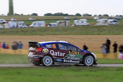 Thierry Neuville, Ford Fiesta RS WRC, SS9 Stein & Wein.