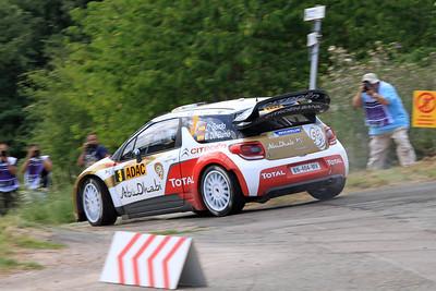 Dani Sordo, Citroen DS3 WRC, Shakedown.