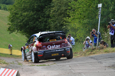 Mads Ostberg, Ford Fiesta RS WRC, Shakedown.