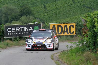 Michal Kosciuszko, Ford Fiesta RS WRC, SS4 Moselland.