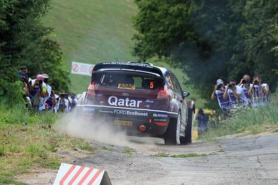 Evgeny Novikov, Ford Fiesta RS WRC, Shakedown.
