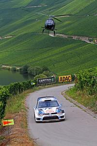 Sebastian Ogier, Volkswagen Polo WRC, SS4 Moselland.